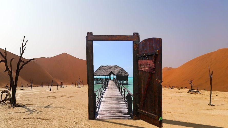 דלת שנפתחת בחלום