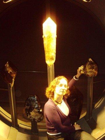 ביקור במוזיאון הקריסטלים
