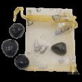 אוניקס שחור אבן קריסטל אוניקס שחור