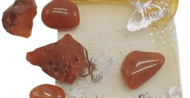 קארנליין אבן קריסטל קרנליין